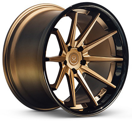 5*108 5*110 2 piece forged 5 stud alloy aluminum rim wheel