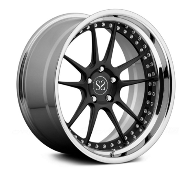 TUV Standard 20inch 2-PC Forged Alloy Rims For MERCEDES-BENZ